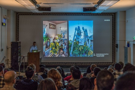 Opening talk for ALTERNATIVE VISIONS exhibit, San Jose State, CA 2108