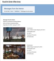 Messages from the Interior: Exhibition at the Visual Arts Center of New Jersey