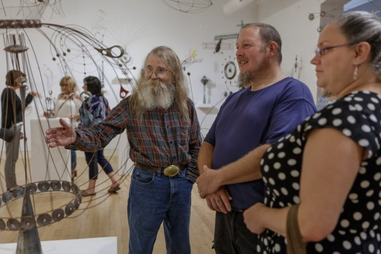 Bill Brady Exhibition; Erie Art Museum 2018