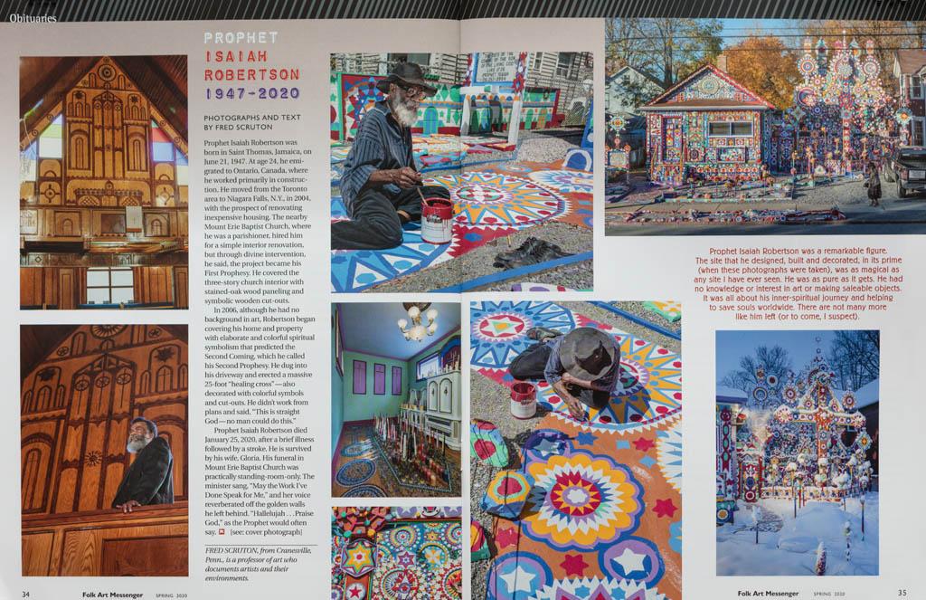 Folk Art Messenger Spring 2020