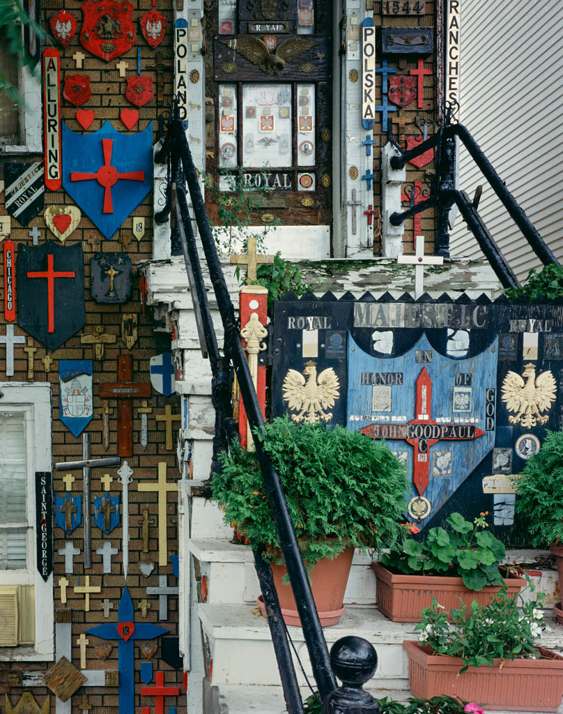 """House of Crosses"" or ""Cross House"" Chicago, IL 2001"