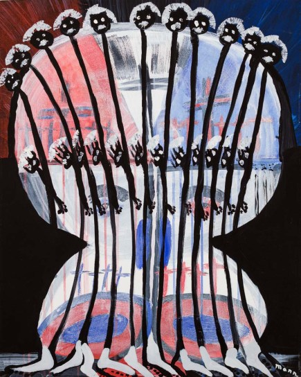 In Memory of Rosa Parks; ca 2005, 28x24