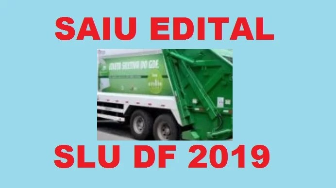 Concurso SLU DF 2019
