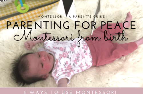 Montessori Baby - 3 ways to start Montessori