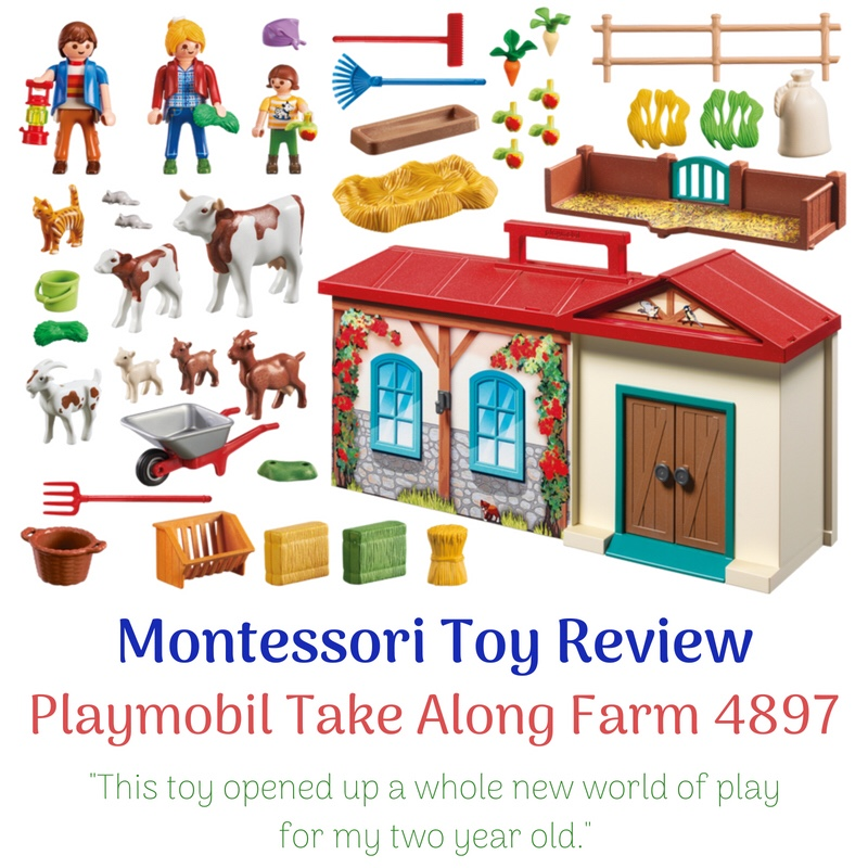 Review Playmobil Take Along Farm 4897
