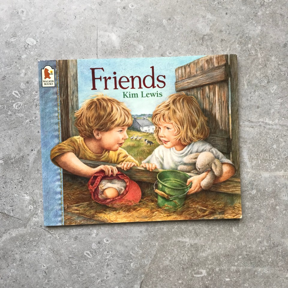 Friends by Kim Lewis - Farm book for kids