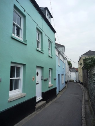 Fred's cottage in Fowey 2012