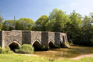 Lostwithiel's 12th century bridge