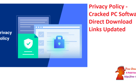 Privacy Policy - Cracked PC Softwares Direct Download Links Updated