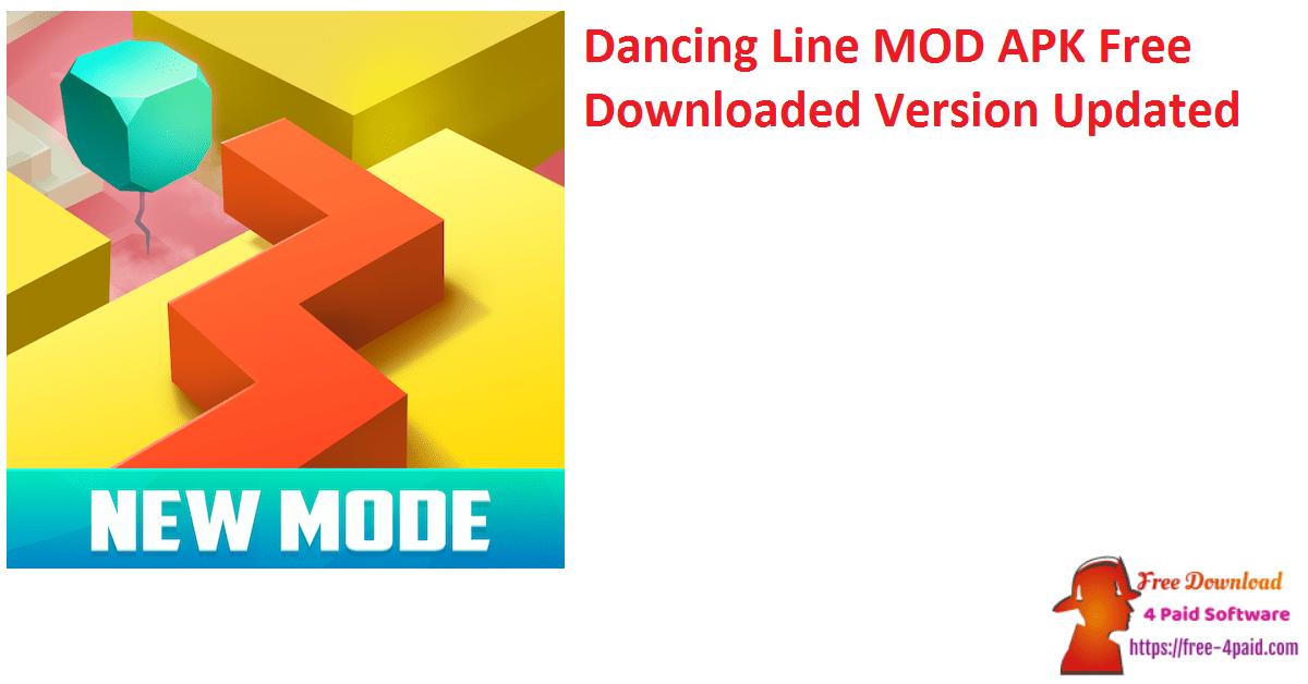 Dancing Line MOD APK Free Downloaded Version Updated
