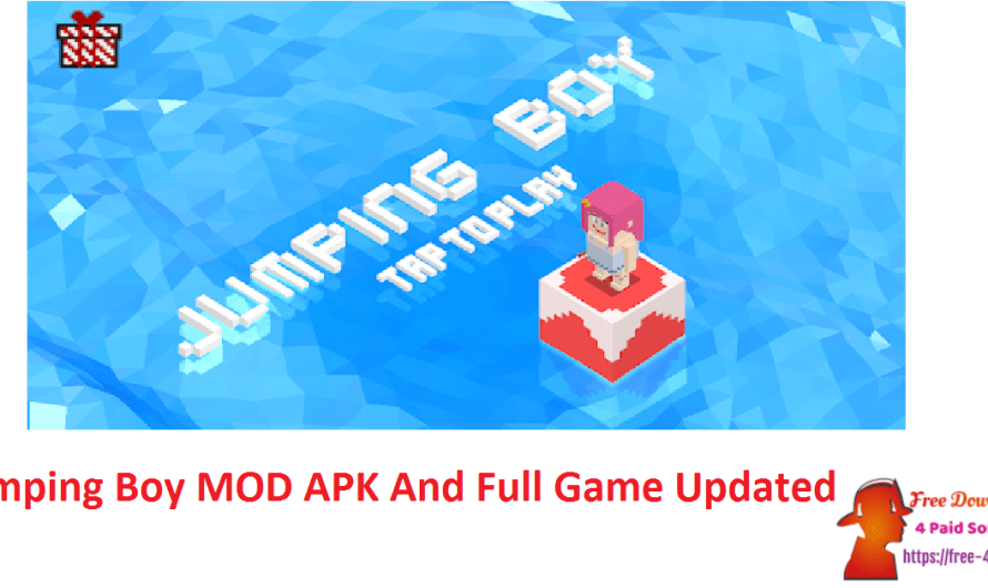 Jumping Boy 1.2 Crack MOD APK And Full Game [Updated]