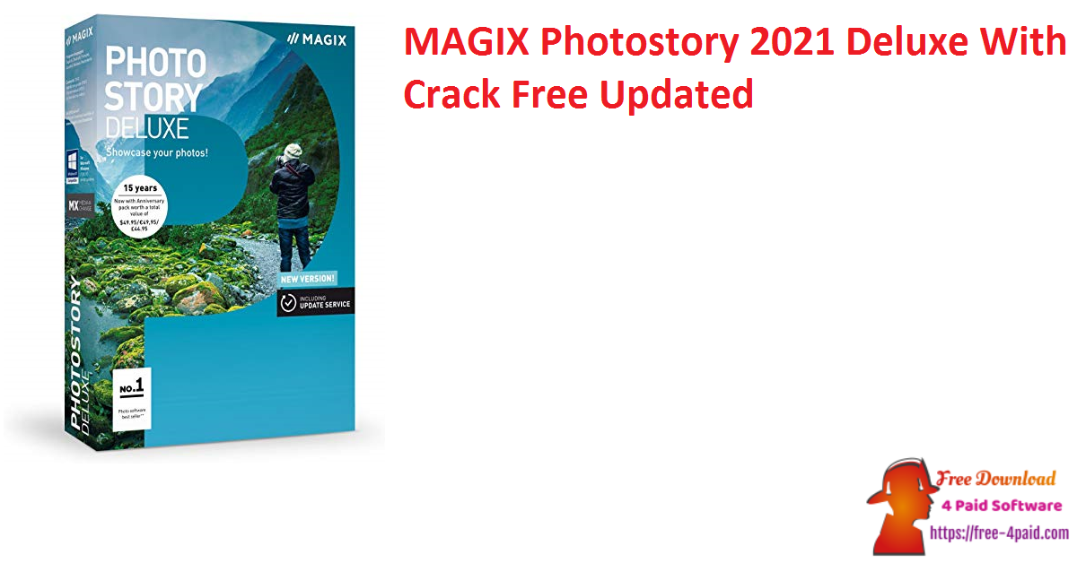 MAGIX Photostory 2021 Deluxe With Crack Free Updated