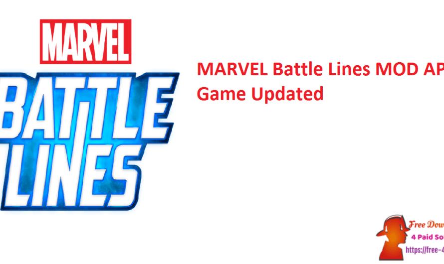 MARVEL Battle Lines 2.23.0 MOD APK Game [Updated]