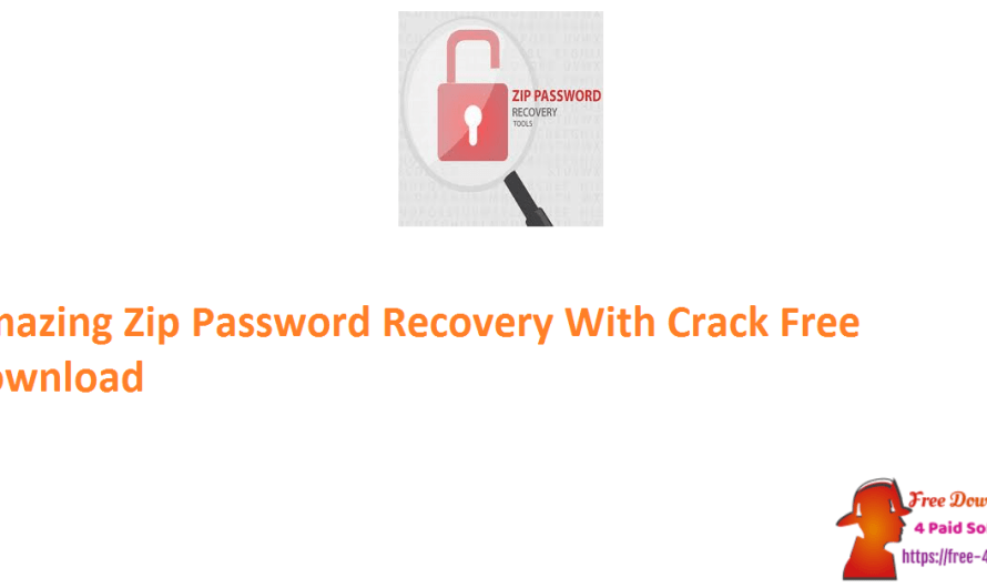 Amazing Zip Password Recovery 1.5.8.8 With Crack Free Download
