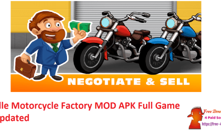 Idle Motorcycle Factory MOD APK Full Game Updated