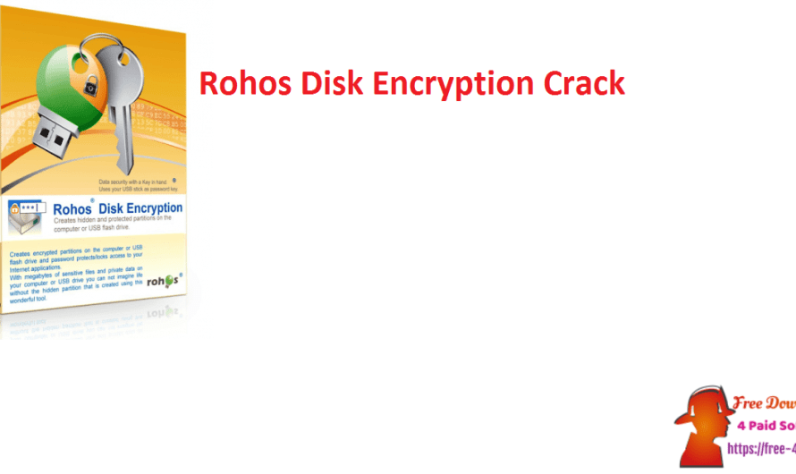Rohos Disk Encryption V3.0 With Crack Free Download [Portable]