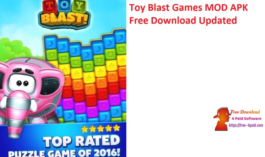 Toy Blast Games 9002 MOD APK Free Download [Updated]