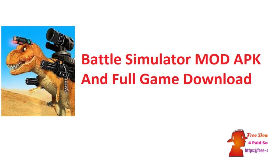 Battle Simulator 1.4.70 MOD APK And Full Game Download