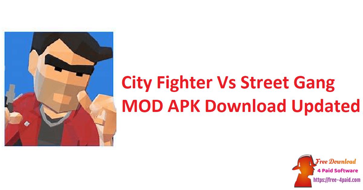 City Fighter Vs Street Gang MOD APK Download Updated