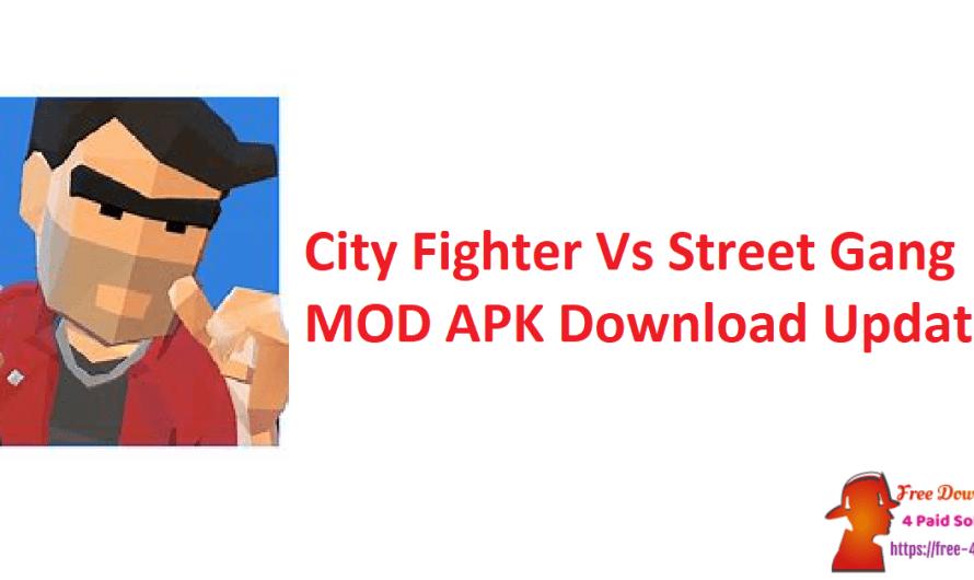 City Fighter Vs Street Gang V2.1.4 MOD APK Download [Updated]