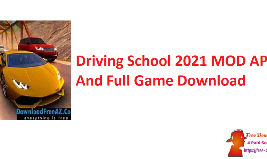 Driving School 2021 5.1 MOD APK And Full Game Download