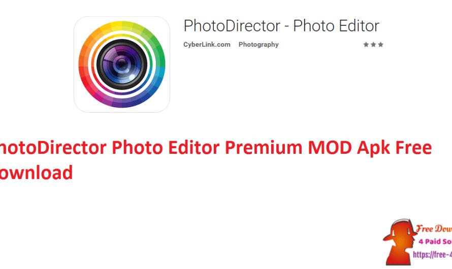 PhotoDirector Photo Editor Premium MOD 15.5.5 Apk Free Download