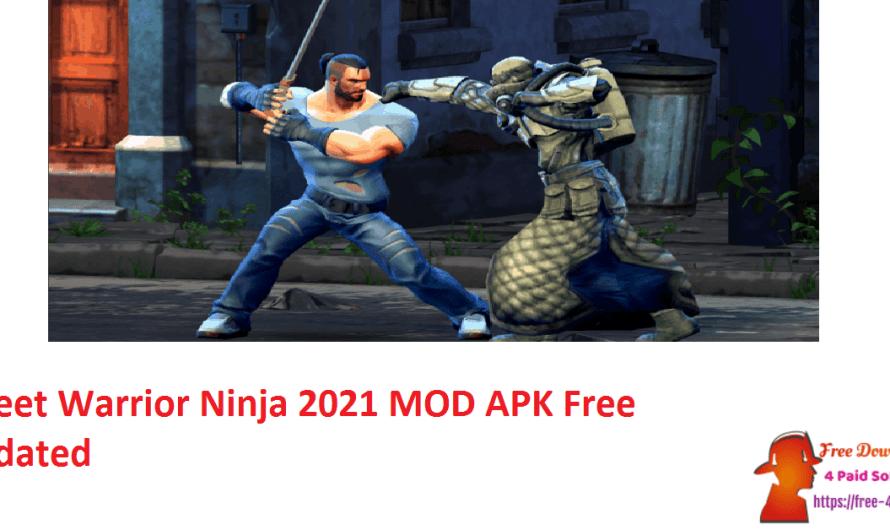 Street Warrior Ninja 2021 1.29 Crack MOD APK Free [Updated]