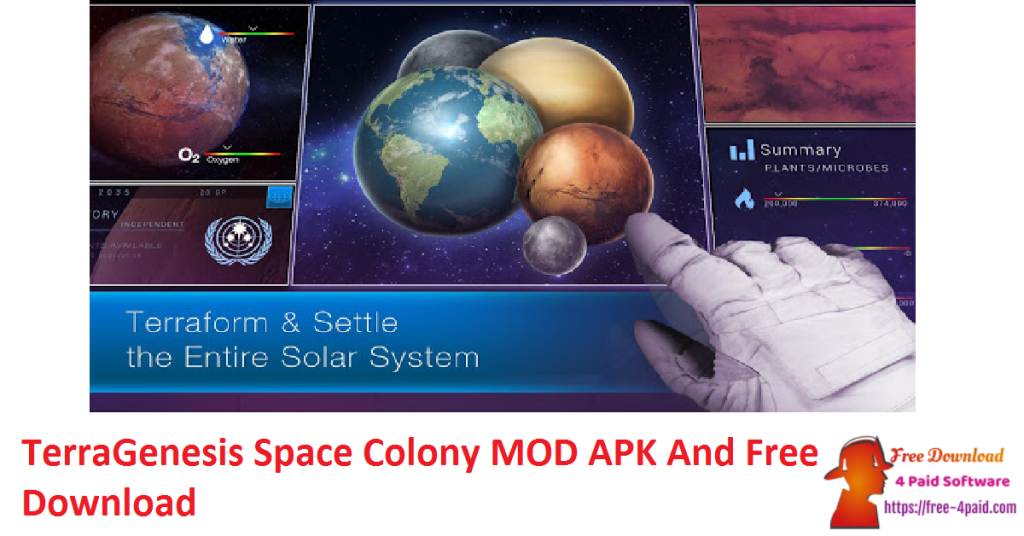 TerraGenesis Space Colony MOD APK And Free Download