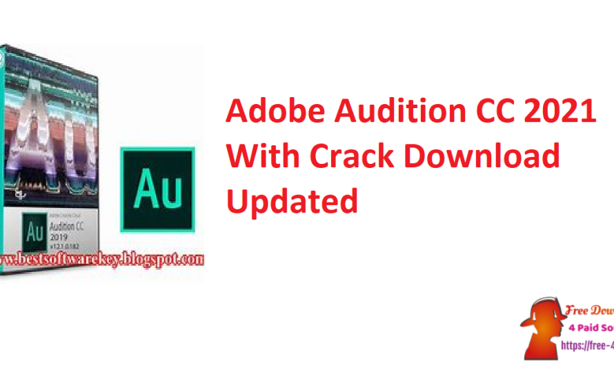 Adobe Audition CC 2021 14.4.0.38 With Crack Download [Updated]
