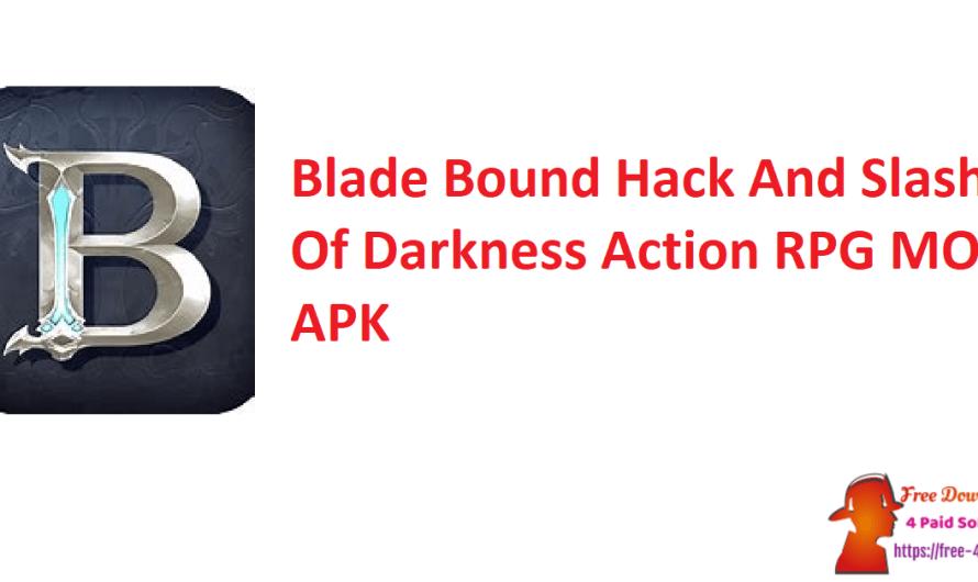 Blade Bound Hack And Slash Of Darkness Action RPG  2.19.0 MOD APK