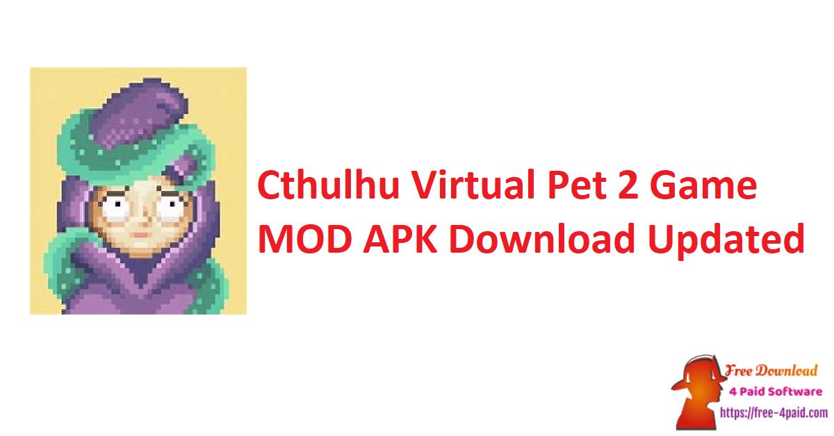 Cthulhu Virtual Pet 2 Game MOD APK Download Updated