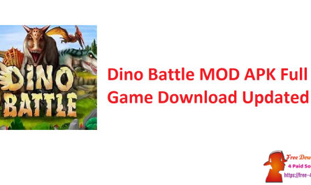 Dino Battle MOD APK Full Game Download Updated