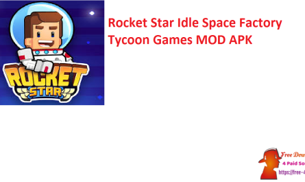Rocket Star Idle Space Factory Tycoon Games MOD APK