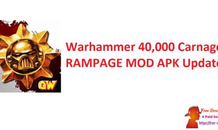 Warhammer 40,000 Carnage RAMPAGE MOD APK Updated