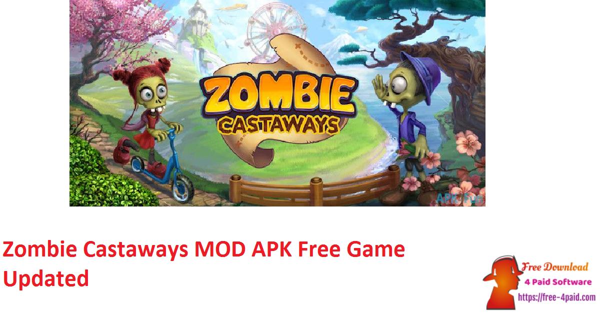 Zombie Castaways MOD APK Free Game Updated