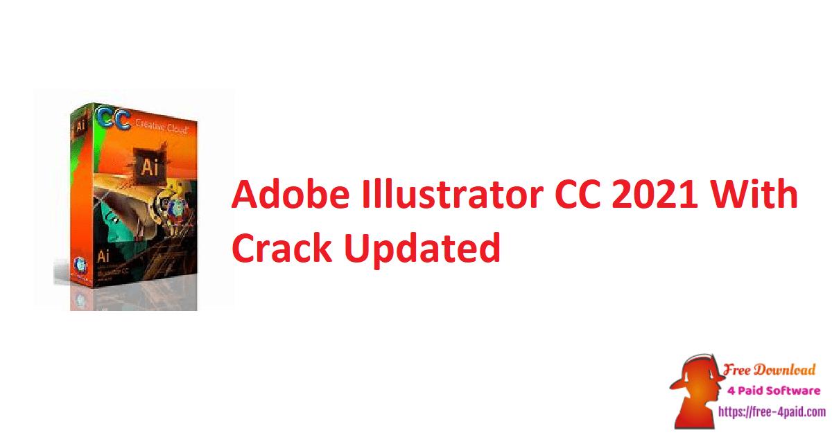 Adobe Illustrator CC 2021 With Crack Updated