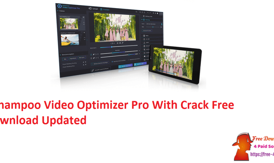 Ashampoo Video Optimizer Pro 2.0.1 With Crack Free Download [Updated]