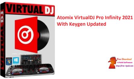 Atomix VirtualDJ Pro Infinity 2021 With Keygen Updated
