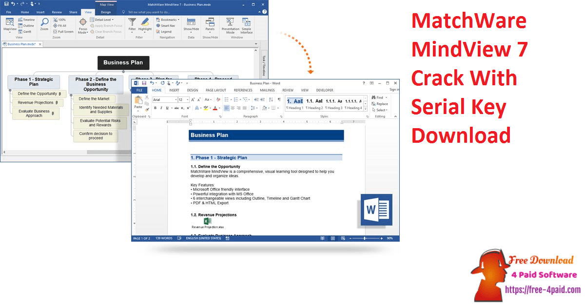 MatchWare MindView 7 Crack With Serial Key Download