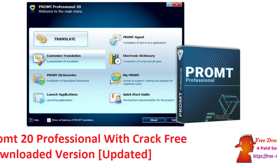 Promt 20 Professional 21.0.32 Crack Free Downloaded Version [Updated]