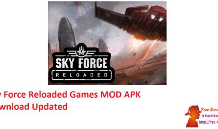 Sky Force Reloaded Games MOD APK Download Updated