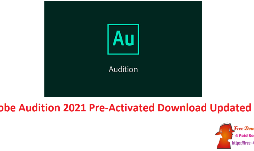 Adobe Audition 2021 14.4.0.38 Crack Pre-Activated Download [Updated]