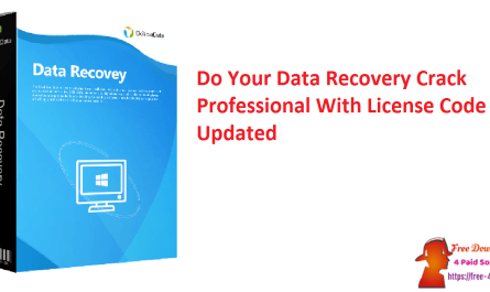 Do Your Data Recovery Crack Professional With License Code Updated