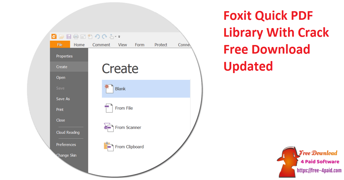 Foxit Quick PDF Library With Crack Free Download Updated