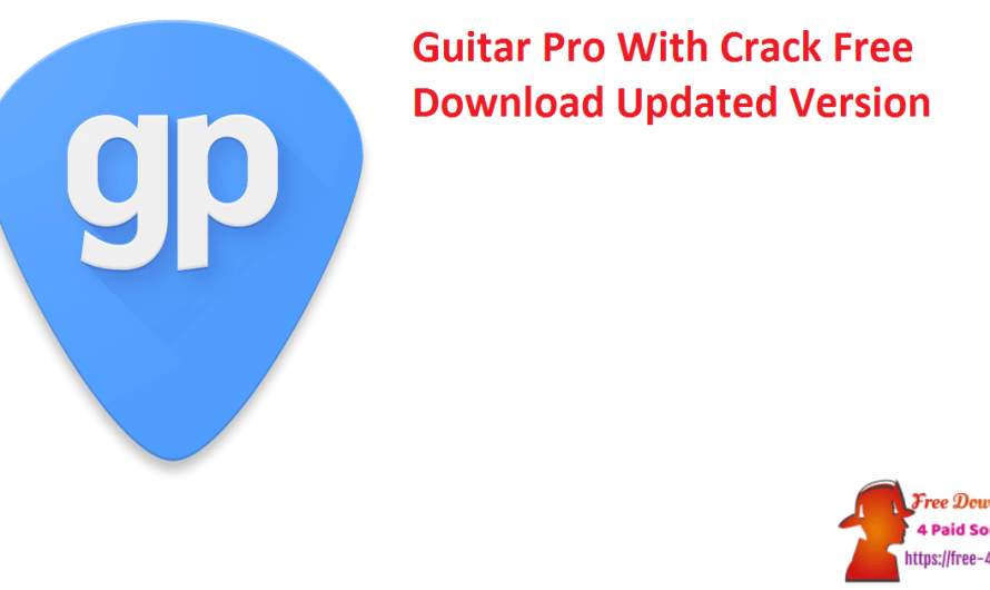 Guitar Pro 7.5.5 Build 1844 With Crack Free Download [Updated Version]