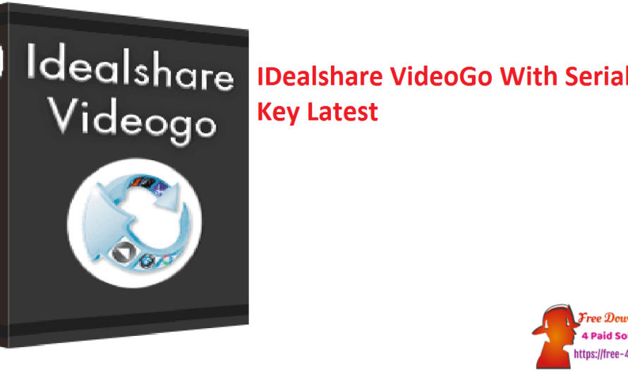 IDealshare VideoGo 7.1.1.7235 With Serial Key [Latest]
