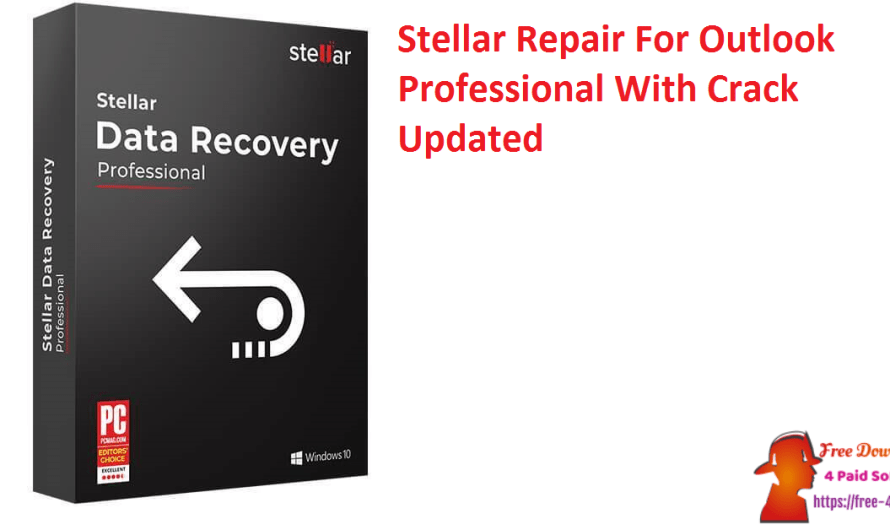 Stellar Repair For Outlook Professional 10.0.0.1 With Crack [Updated]