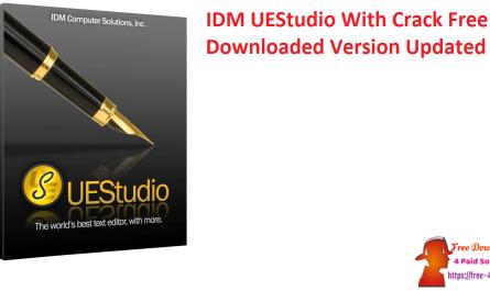 IDM UEStudio With Crack Free Downloaded Version Updated