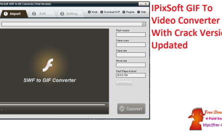 IPixSoft GIF To Video Converter With Crack Version Updated