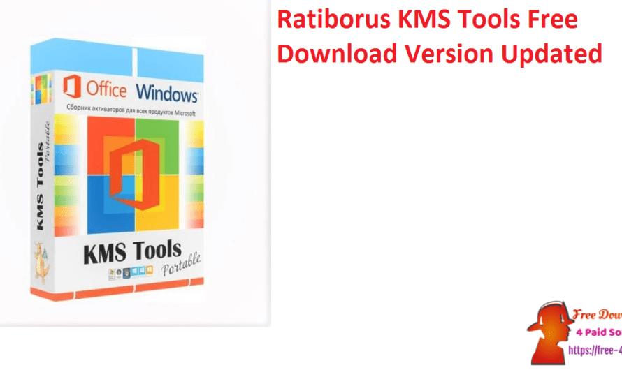 Ratiborus KMS Tools 25.12.2021 Crack Free Download Version [Updated]